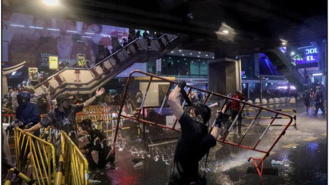Biểu tình phản đối chính phủ ở Bangkok hôm 16/10/2020