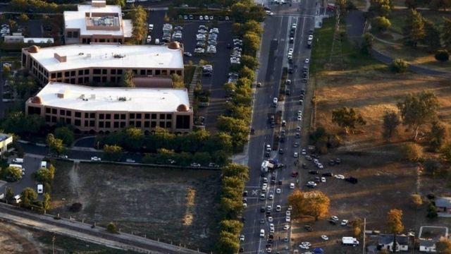 銃撃が起きた「インランド地域センター」は障害のある成人を支援している