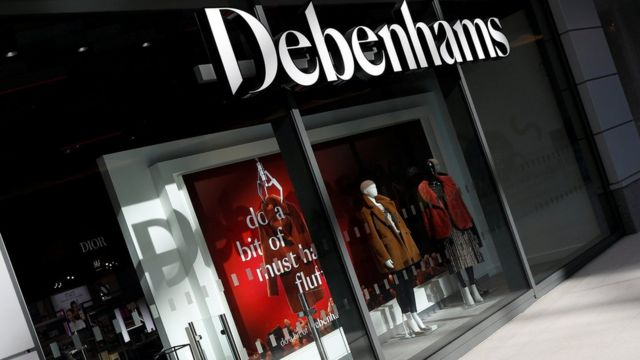 Debenhams makes record annual loss and plans up to 50 store closures
