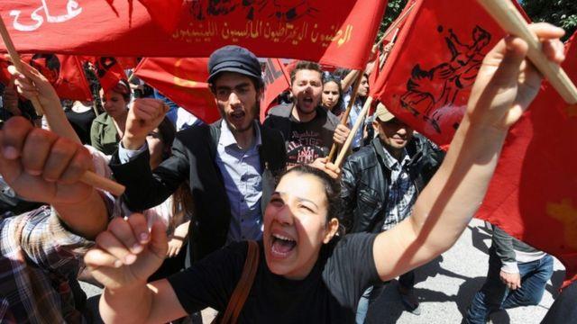 عمال تونسيون