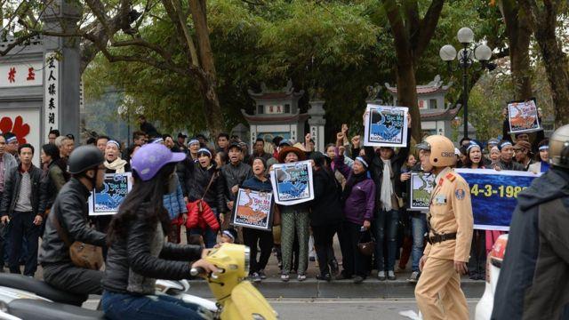 Tranh chấp Trường Sa là chủ đề dễ khơi dậy tinh thần chống Trung Quốc tại Việt Nam
