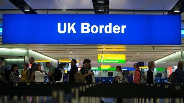 ब्रिटेन एयरपोर्ट