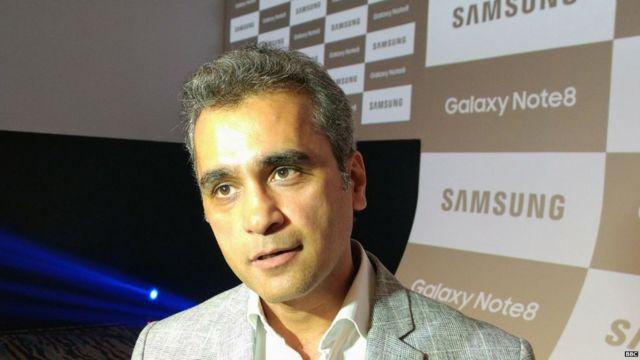सैमसंग इंडिया मोबाइल बिज़नेस के सीनियर वाइस प्रेसिडेंट असीम वारसी