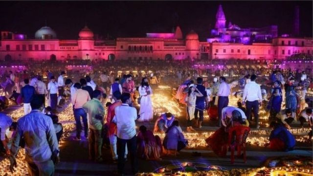 Bikin Diwali a Indiya