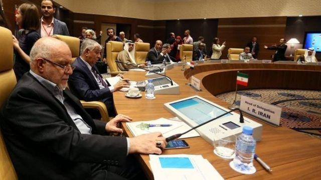 زنگنه وزیر نفت ایران در نشست الجزیره