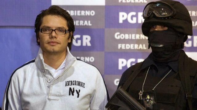 Vicente Carrillo Leyva, hijo del exlíder del Cartel de Juárez, también fue arrestado en Ciudad de México.