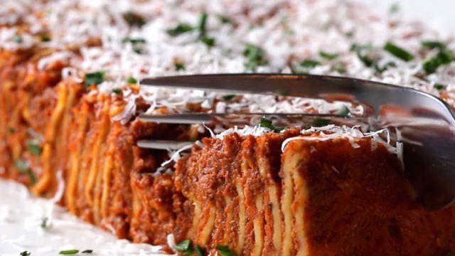 Tasty 100-layer lasagne