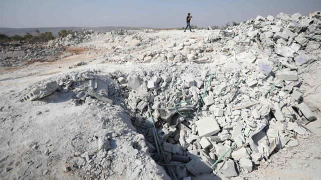 Место напада налази се у провинцији Идлиб