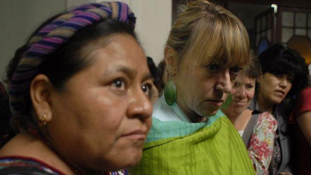 Rigoberta Menchú y Jody Williams