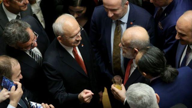 Kemal Kılıçdaroğlu ve Temel Karamollaoğlu