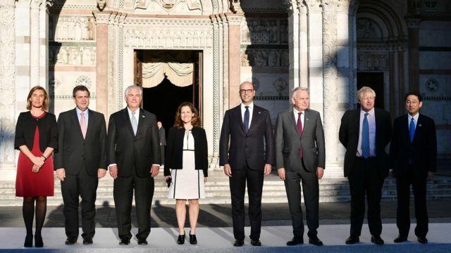 G7 Dışişleri Bakanları