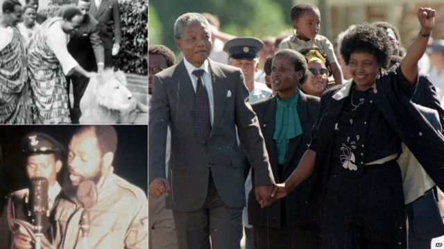 Seven moments from African history on archive film