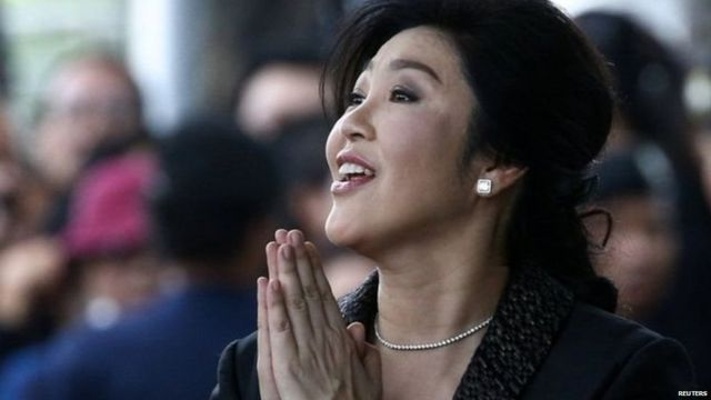 Ms Yingluck is the sister of former PM Thaksin Shinawatra, who fled Thailand in 2008