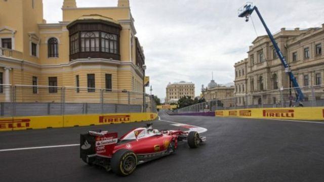 Formula 1-in ilk Bakı Qran Prisi 17-19 iyun tarixlərində baş tutub