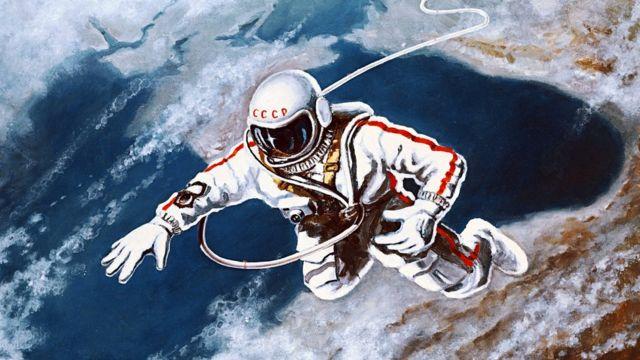 人类首次太空行走