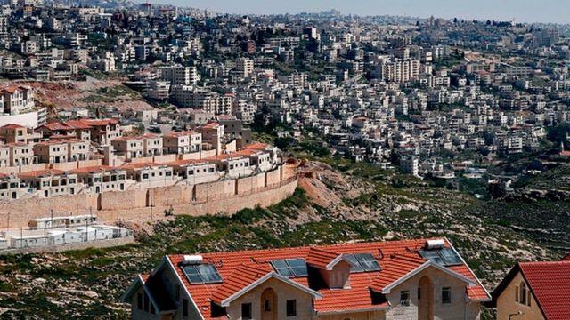 Batı Şeria'da İsrail'in işgali altındaki alanlarda inşa ettiği yerleşim yerleri