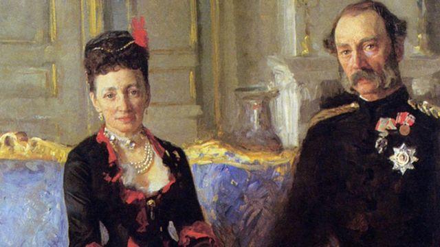 Король Кристиан и королева Луиза