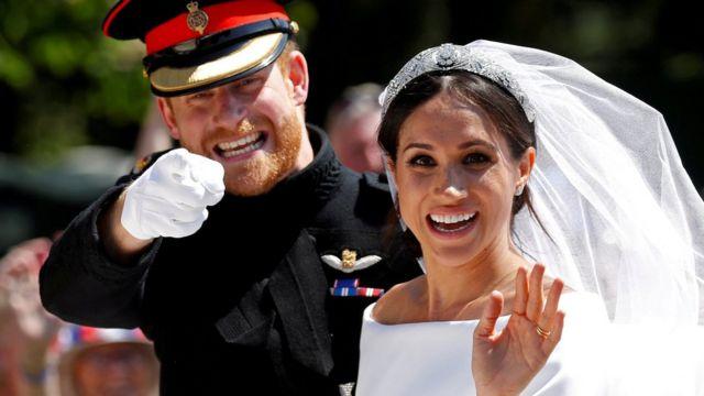 مگان مارکل و شاهزاده هری، نوه ملکه بریتانیا ماه مه سال ۲۰۱۸ ازدواج کردند