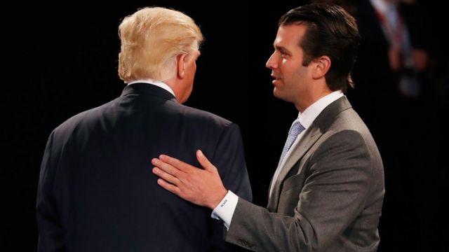 Donald Trump-ın oğlu Donald Trump ilə