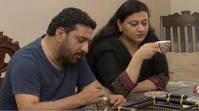 ارم عمر اور ان کے شوہر