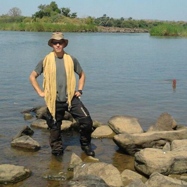 Stephen McGown, en Mali (Foto: Stephen McGown)