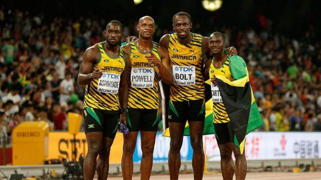 Le 4x100m jamaicain