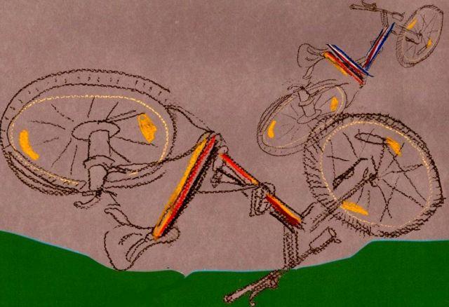 сломанные велосипеды