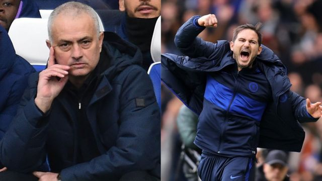 Mourinho na Lampard