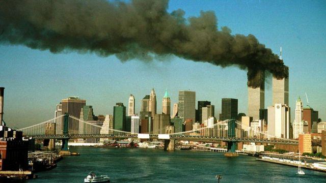 Башни ВТЦ 11 сентября 2001 года