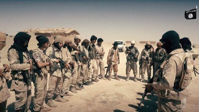 مسلحو تنظيم الدولة في الشرقاط