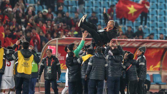 Huấn luyện viên Hàn Quốc Park Hang-seo được ca ngợi
