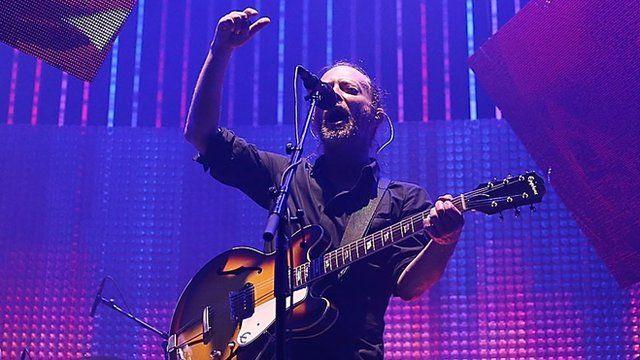 Radiohead singer Thom Yorke