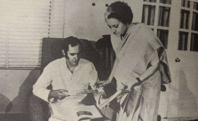 संजय गांधी, इंदिरा गांधी