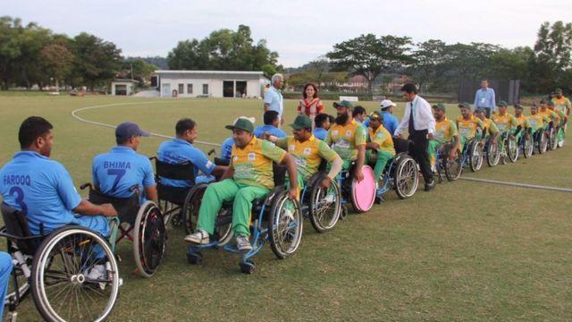 भारत-पाक व्हीलचेयर क्रिकेट