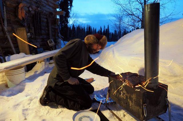 David enciende el horno