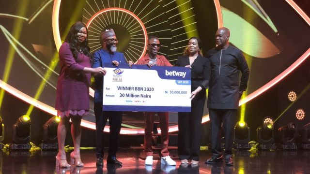 Laycon Big Brother Naija winner