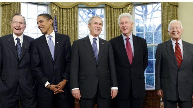 美国前总统(2009年图片)