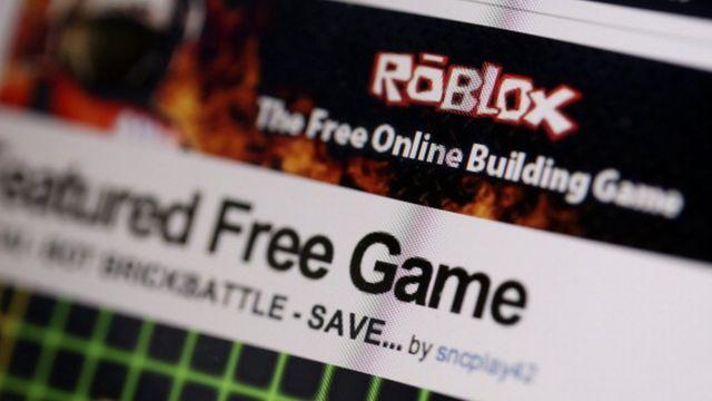 Página web de Roblox