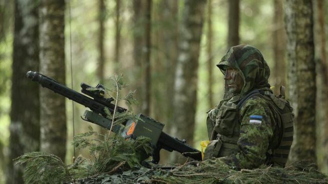 Эстонский пулемет