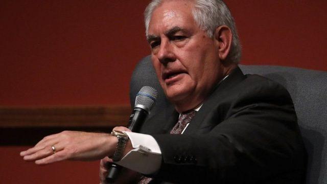 Mr Tillerson ayaa sheegay in Mareykanka ay doonayaan in ay xaqiijiyaan in kooxda IS aysan dib u soo laaban