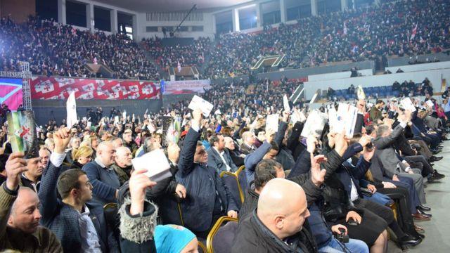 Съезд Единого национального движения