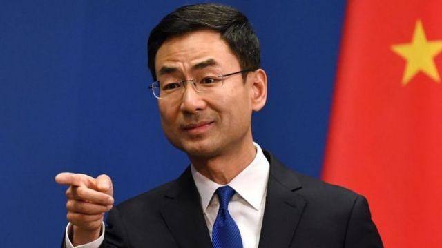 Người phát ngôn ngoại giao Trung Quốc Cảnh Sảng