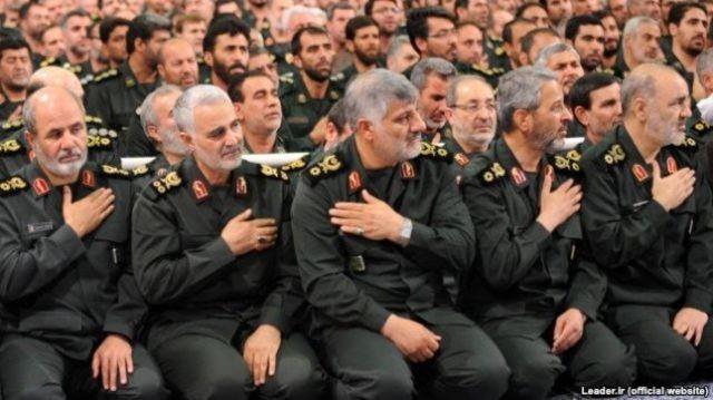 دیدار سپاه پاسداران با رهبر جمهوری اسلامی