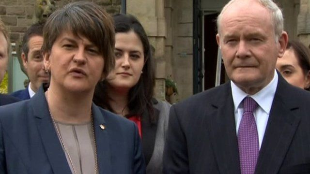 The new Northern Ireland Executive has agreed a draft framework for the programme for government