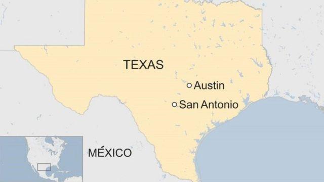 Mapa San Antonio