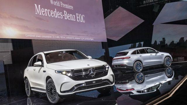 مرسدس-بنز قصد دارد در چهار سال آینده ده مدل الکتریکی به بازار عرضه کند