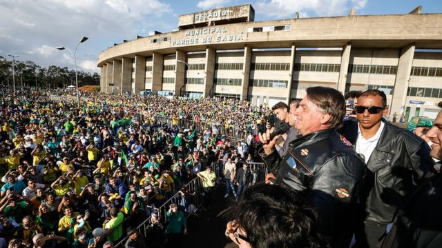Bolsonaro em Uberlândia