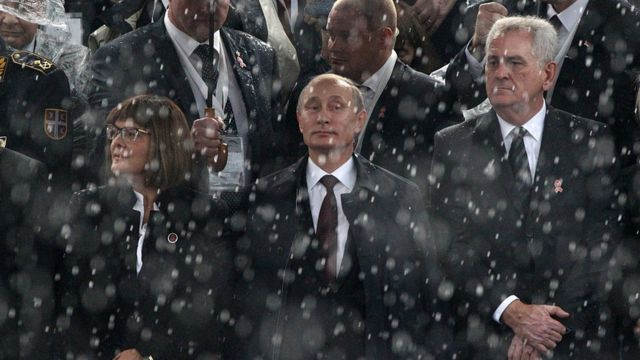 Maja Gojković, Vladimir Putin, Tomislav Nikolić