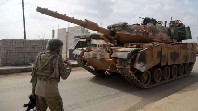 idlib'de türk askerleri