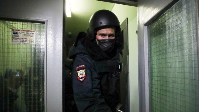 Обыск у Навальной